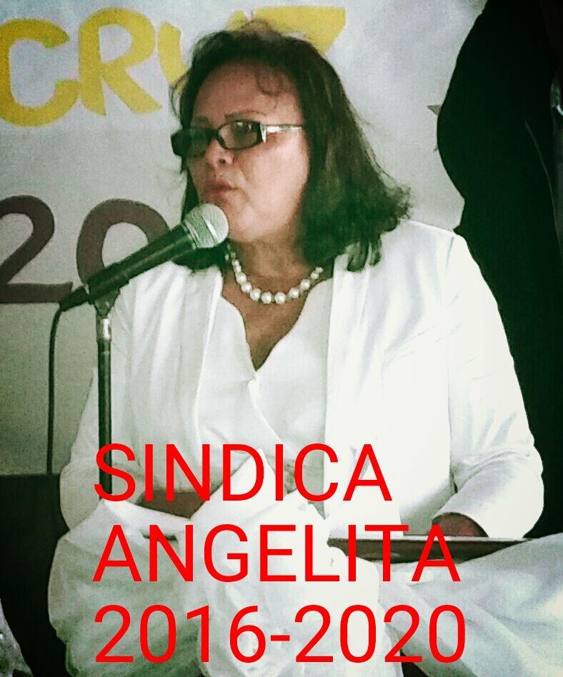""""""" Angelita Cruz , por el progreso de Pueblo Nuevo."""""""