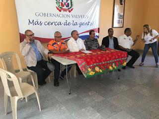 Autoridades y organismos de socorro en Valverde anuncian operativo navideño