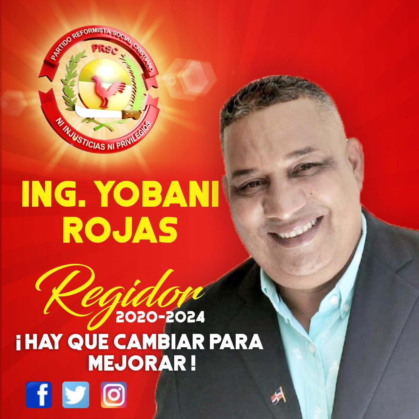 Yobani Regidor Redes Sociales