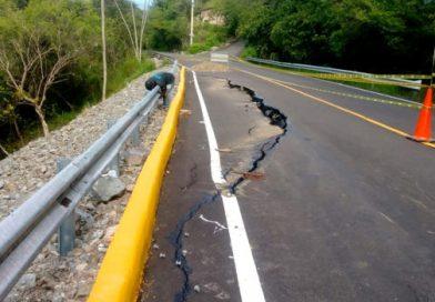 Lluvias afectan inaugurada vía en Jarabacoa