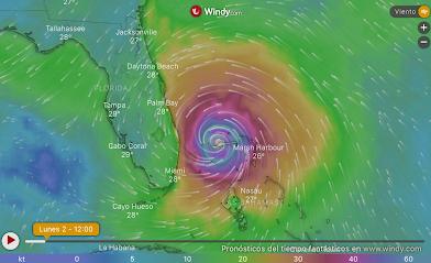 Estados Unidos ordenó la evacuación obligatoria de 1 millón de personas por el monstruoso huracán Dorian