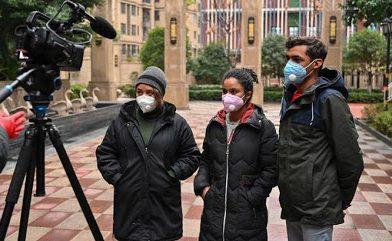 Estudiantes dominicanos que se encontraban en China   llegarán este martes a Ucrania.
