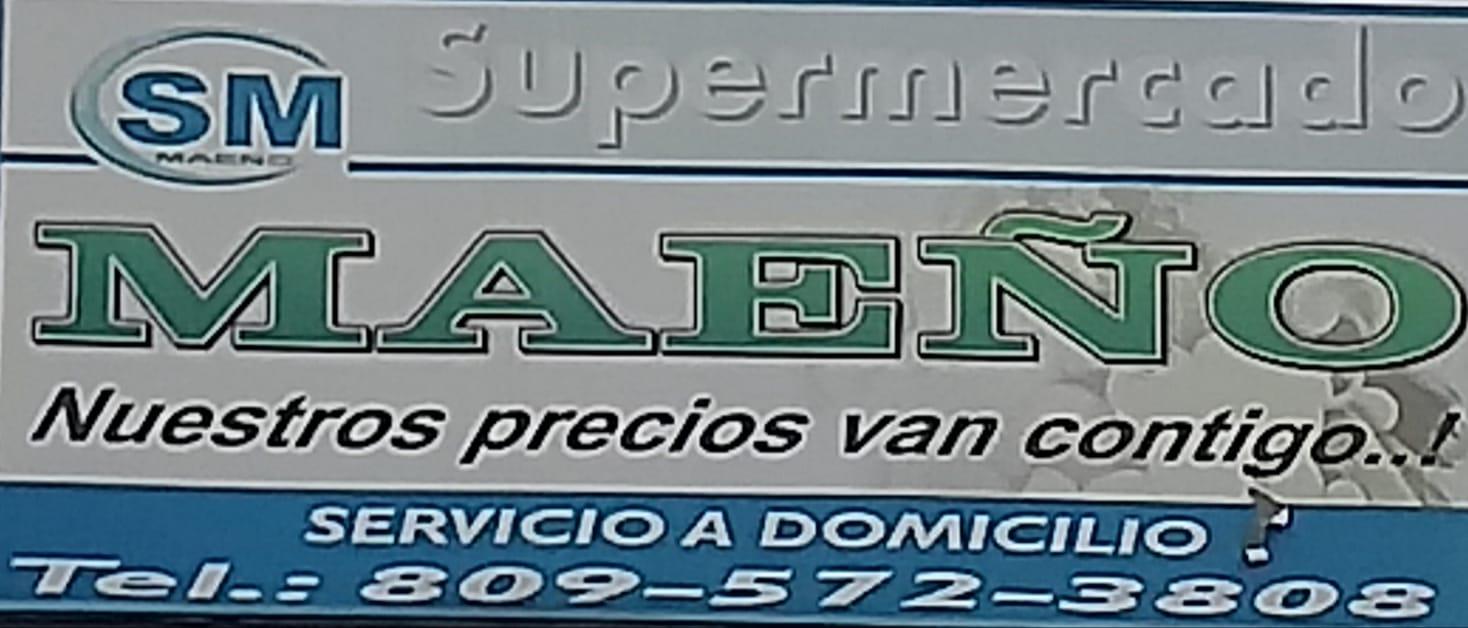 """SUPERMERCADO MAEÑO """" NUESTROS PRECIOS VAN CONTIGO..!"""