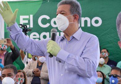 Leonel dice candidato Gonzalo se desmorona y él sube como espuma