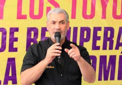 """Gonzalo Castillo dice que el pueblo lo eligió desde ya como """"su presidente"""""""