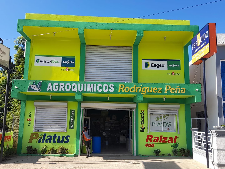 AGROQUIMICOS RODRIGUEZ PEÑA TEL. 809-755-3385